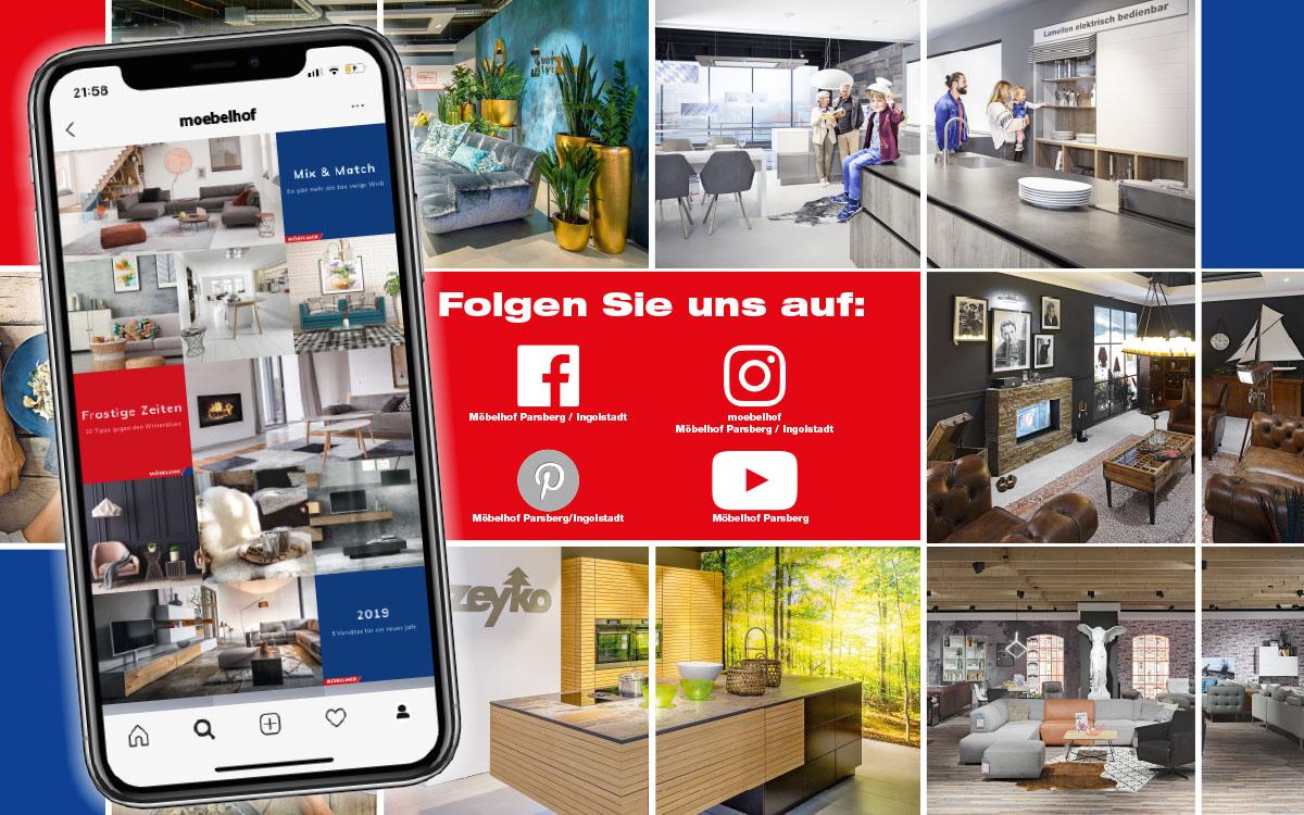 Möbelhof Wohnen Wie Für Mich Gemacht In Parsberg Und Ingolstadt